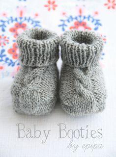 Strickanleitung Baby Booties | Eri´s Creations