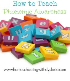 Research has shown that phonemic awareness is the single strongest indicator for a child's success at learning to read.