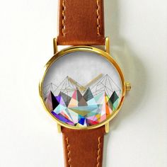 geometric watch