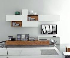 FGF Mobili Massivholz Lowboard Beispiel B 240 cm H 22 cm