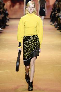 mugler pre fall 2016 | model walks the runway at Mugler's fall-winter 2016 show wearing a ...