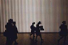 Inside the National Art Center, Tokyo
