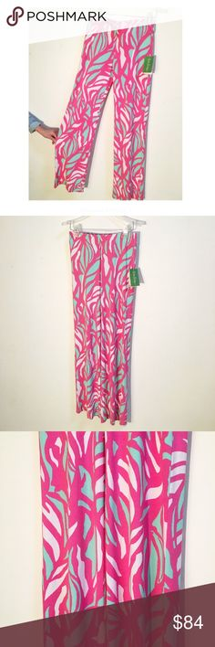 Host Pick 💕Lilly Pulitzer Georgia pants! These pants are perfect, lightweight and super fun for the summer! Lilly Pulitzer Pants Boot Cut & Flare