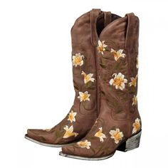 """Lane Boots """"Veronica"""" cowgirl boot"""