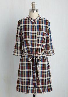 #AdoreWe #ModCloth Dress - ModCloth Rustic Reverence Shirt Dress - AdoreWe.com