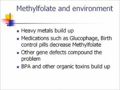 Part 1 of 4 - Dr. Neil Rawlins gives an insightful 51-minute lecture on MTHFR (Methyltetrahydrofolate Reductase) in September of 2011. In it he covers what MTHFR is, what the symptoms of MTHFR are, as well as how to treat it and some of the products available to do so.