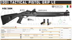Fabbrica d'Armi Pietro Beretta S.p.A. - 1301 Tactical Pistol Grip LE Mesa Tactical, Tactical Pistol, Tactical Shotgun, Tactical Gear, Military Weapons, Weapons Guns, Benelli M4, Firearms, Shotguns