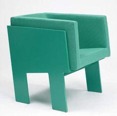 Moloss Armchair by Fredrik Mattson