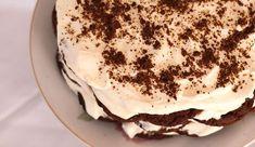 Γρήγορο γλύκισμα ψυγείου με 2 υλικά έτοιμο σε μόλις 5 λεπτά Greek Recipes, I Foods, Tiramisu, Sweets, Cooking, Cake, Ethnic Recipes, Desserts, Kos
