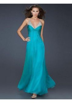 Sheath/Column Spaghetti Straps Sleeveless Chiffon Blue Prom Dresses/Evening Dress With Beading #FK798 - See more at: http://www.victoriasdress.com/prom-dresses/blue-prom-dresses.html#sthash.3DjGBl1x.dpuf