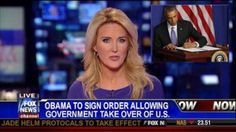BREAKING: Obama signs EXECUTIVE ORDER To Take Over America....Here we go...
