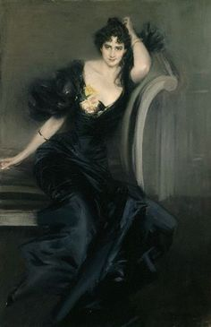 Gertrude Elizabeth (née Blood), Lady Colin Campbell by Giovanni Boldini, circa 1897