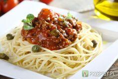 Spaghetti Bolognese po sycylijsku