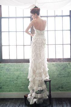 Enaura Bridal Wedding Dresses 2014 Spring Collection. To see more: http://www.modwedding.com/2014/08/11/enaura-bridal-wedding-dresses-2014-spring-collection/ #wedding #weddings #wedding_dress