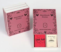 Pippa's Cabinet: Matchbook Stories