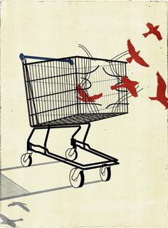 El Miajilla: Cosas que veo que me gustan al momento; Un Grito minimalista: Alessandro Gottardo