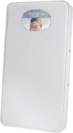 The #Kids Basics Baby Royal is a 150 coil count mattress. It consists of heavy gauge innersprings and an all-around steel border wire for complete edge support, ...