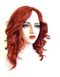 Model ARABELA #106-Peruca par natural mediu roscat | Peruci.ro | Peruci.ro Human Hair Wigs, Wig Hairstyles, Long Hair Styles, Model, Beauty, Long Hairstyle, Scale Model, Long Haircuts