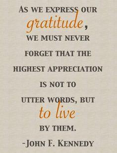 Today is World Gratitude Day! via Habitually Chic®