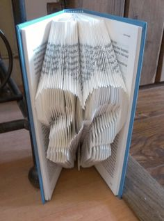 Folded Book Art  'Tinker Tailor' Book by TheFoldedBookCompany, £12.50