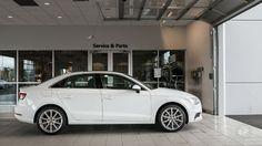 Audi A3 Sedan 2015 White