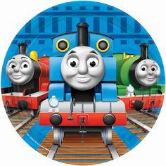 "Thomas the Tank Engine 7"""" Plates | 8ct"