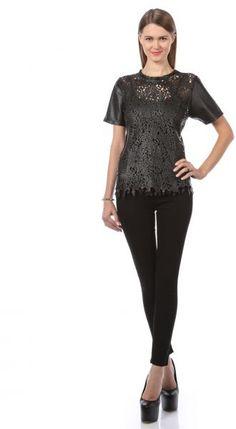 Winter Kate laser cut leather top in UAE   Souq Fashion   Souq