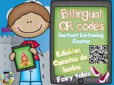 Create an instant listening center using QR codes linked to English and Spanish read alouds (through Safeshare). Develop listening comprehension with the 18 comprehension questions included in English and Spanish (all levels of Bloom's Taxonomy included).