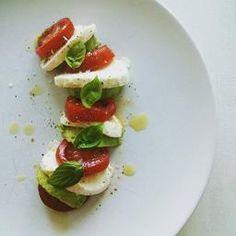 Caprese/avocado salad