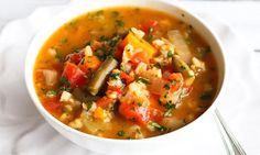 Slow Cooker Vegetable Barley Soup Recipe