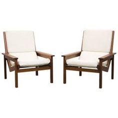 Pair of Rare Robert Parry Lotus Chairs