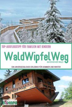 WaldWipfelWeg - Bavarian Forest - KiMaPa The WaldWipfelWeg leads 370 meters in . - WaldWipfelWeg – Bavarian Forest – KiMaPa The WaldWipfelWeg leads 370 meters at an airy height o - Winter Camping, Family Camping, Go Camping, Camping Hacks, Family Travel, Austria Travel, Germany Travel, Trailers Camping, Bavarian Forest