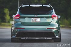 Ford Focus RS & the Import Generation - Magazine Ford Rs, Hatchbacks, Modified Cars, Ford Focus, Sport Cars, Exotic Cars, Rally, Dream Cars, Trucks