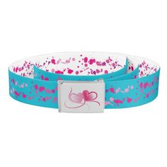 Adorable Reversible Heart Belt