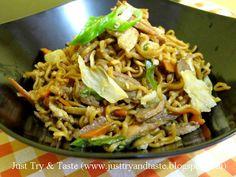 Just Try & Taste: Mie Goreng Jawa
