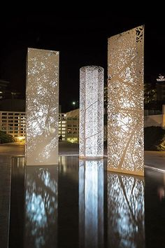 light art installation 44 Ideas For Outdoor Lighting Installation Landscapes