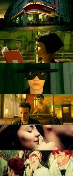 10 filmes que os fãs de Harry Potter vão amar. Cenas do filme O Fabuloso Destino de Amélie Poulain. #filmes