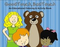 FSGC, Good Touch Bad Touch Coloring and Activity Book by Mandy ...