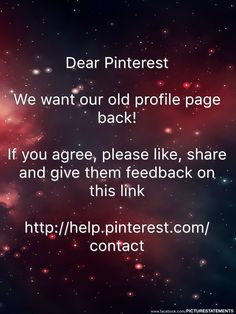 Tell Pinterest to change it back!! Make your opinion heard. They can't ignore us forever.
