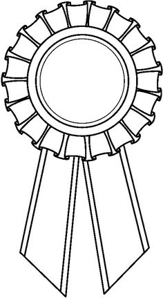 Award Ribbon Clipart Award ribbon b Colouring Pages, Coloring Sheets, Toddler Crafts, Crafts For Kids, Ribbon Clipart, Page Borders Design, Fathers Day Crafts, School Decorations, Ribbon Crafts