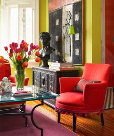 301 Best Orange Chairs images | Chair, Furniture, Accent chairs