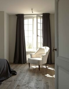 and then maybe drapery in the adjacent music room living room could have lighter walls with curtains to match the wall color theme in the TV living room... hmmm