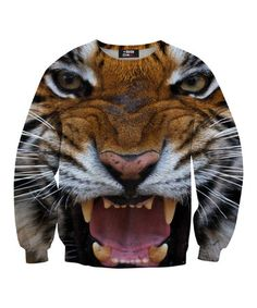 HARAJUKU CUTE Orange Tiger Sweatshirt - Toddler & Kids by Mr. Gugu & Miss Go #zulily #zulilyfinds