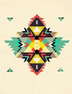 Cherokee rug print. Lerv