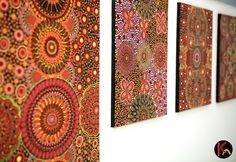 Australian Aboriginal art and Aboriginal paintings represent one of the most vital art forms in Australia today. The contemporary Aboriginal paintings using acrylic on canvas are the latest adaptation of an artistic tradition that can be traced uninterrupted and continuous for over thousands of years, making it the oldest living art movement in existence.