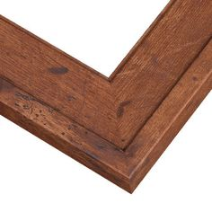 Rustic Wood Frame   RSP3 Brown Finish Picture Frame   PictureFrames.com