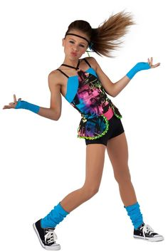 Ha this was my dance costume last year except the the gloves and the other thing was orange