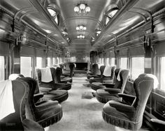 1905 Parlor Car. Now that is a train.