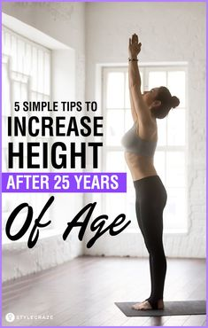 5 Simple Tips To Increase Height After 25 Years Of Age Gym Workout Tips, Fitness Workout For Women, Workout Videos, Fitness Tips, Basic Workout, Tummy Workout, Cardio Gym, Wellness Fitness, Workout Challenge