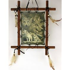 Find amazing Framed Indian WOLVES Picture Native American Art 9 x 11 (including frame) WOLF Reproduction wolf gifts for your wolf lover. American Indian Decor, Native American Decor, Indian Art, Indian Style, Indian Pictures, Wolf Pictures, Art Pictures, Indian Pics, Framed Pictures
